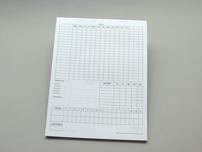 baseball stats sheet pdf