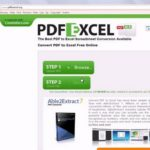 convert pdf to excel spreadsheet format