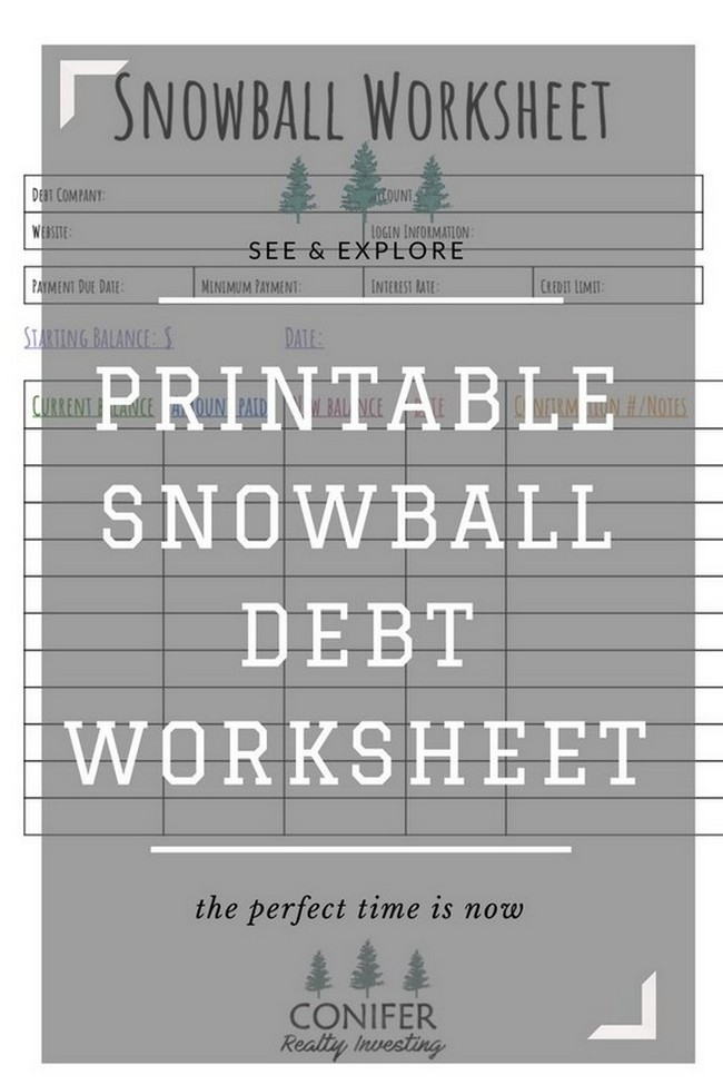 debt payoff calculator template excel