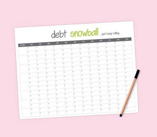 debt payoff spreadsheet mac