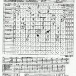 e-z baseball stat sheet
