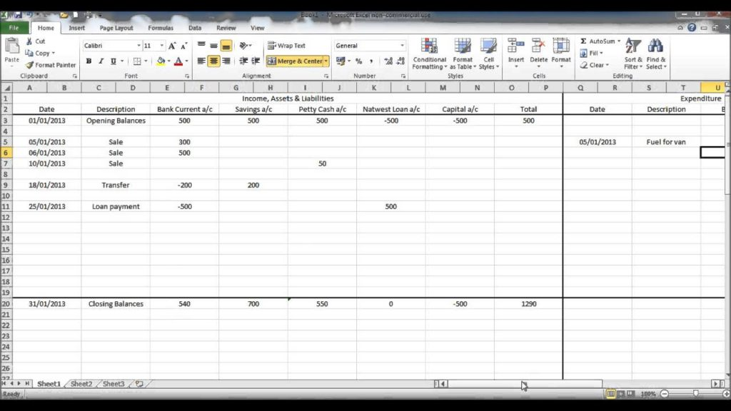 Personal Finance Manager Drop Down Menus  YouTube
