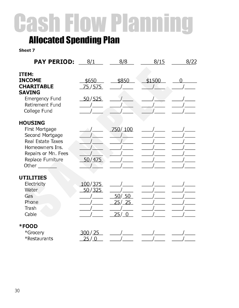 dave ramsey allocated spending plan excel spreadsheet natural buff dog. Black Bedroom Furniture Sets. Home Design Ideas
