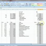 Earthwork Calculation Excel Sheet