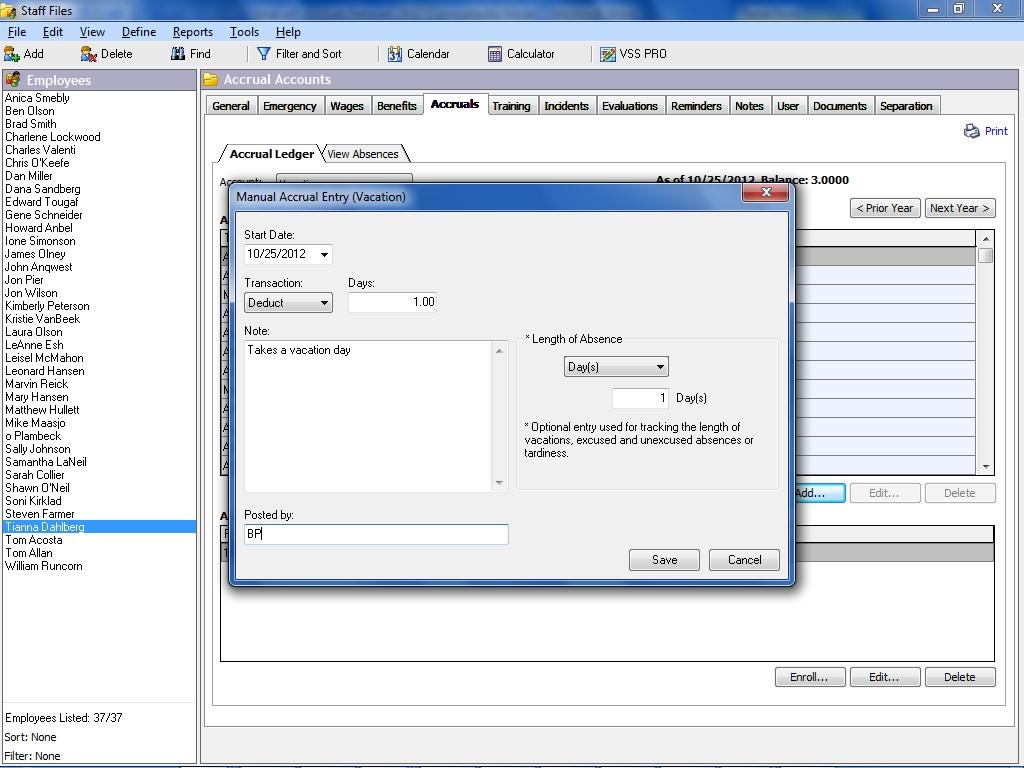 Excel Pto Accrual Spreadsheet