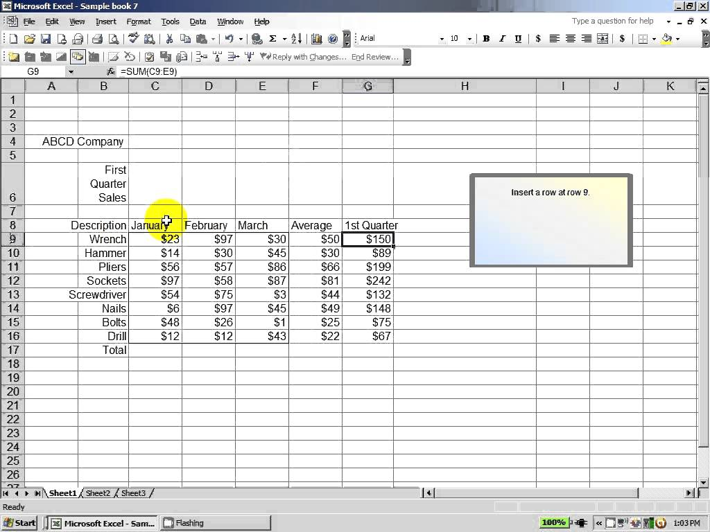 Excel Spreadsheet Test For Interview