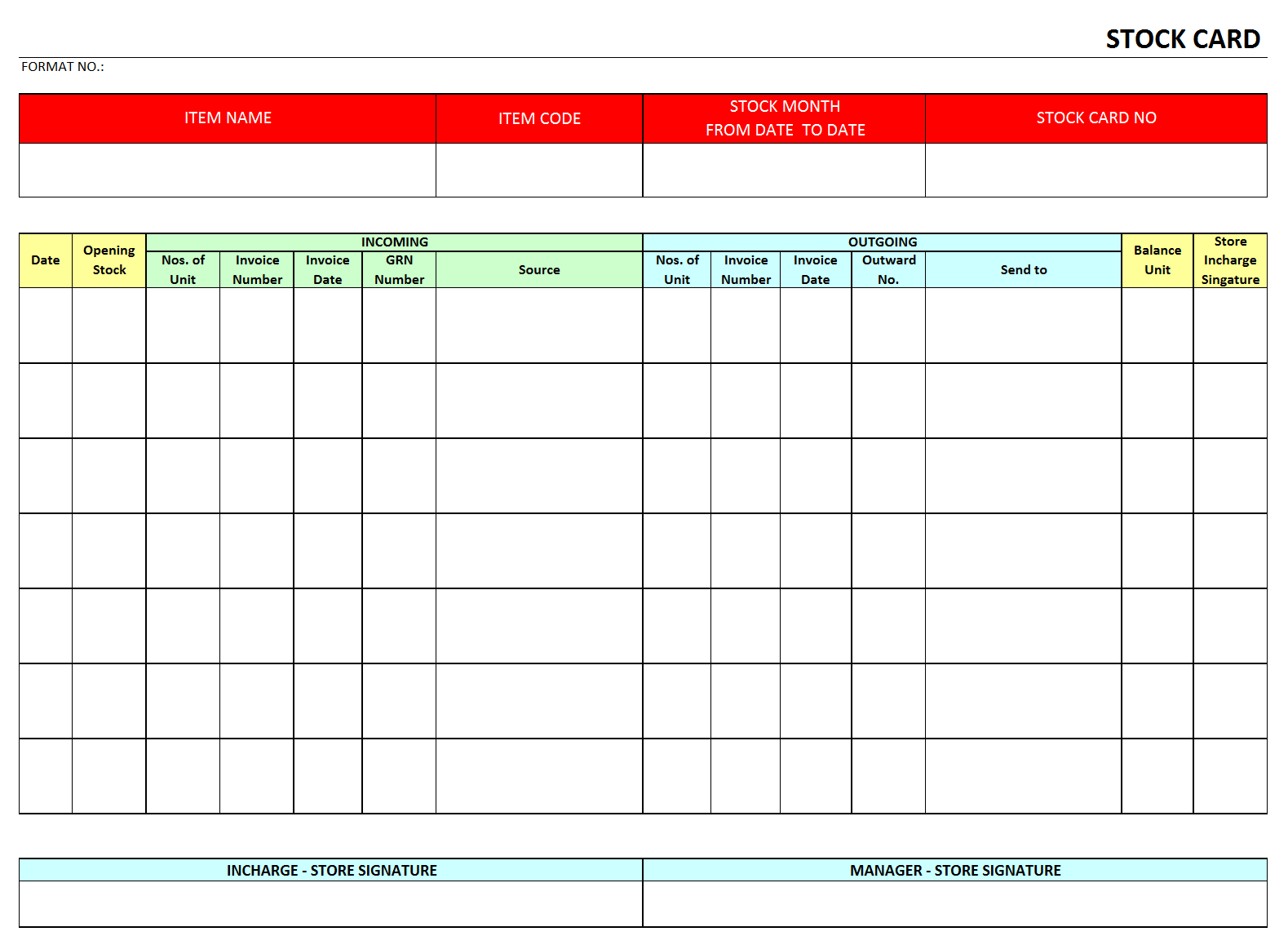 Excel Template For Warehouse Inventory Nbd