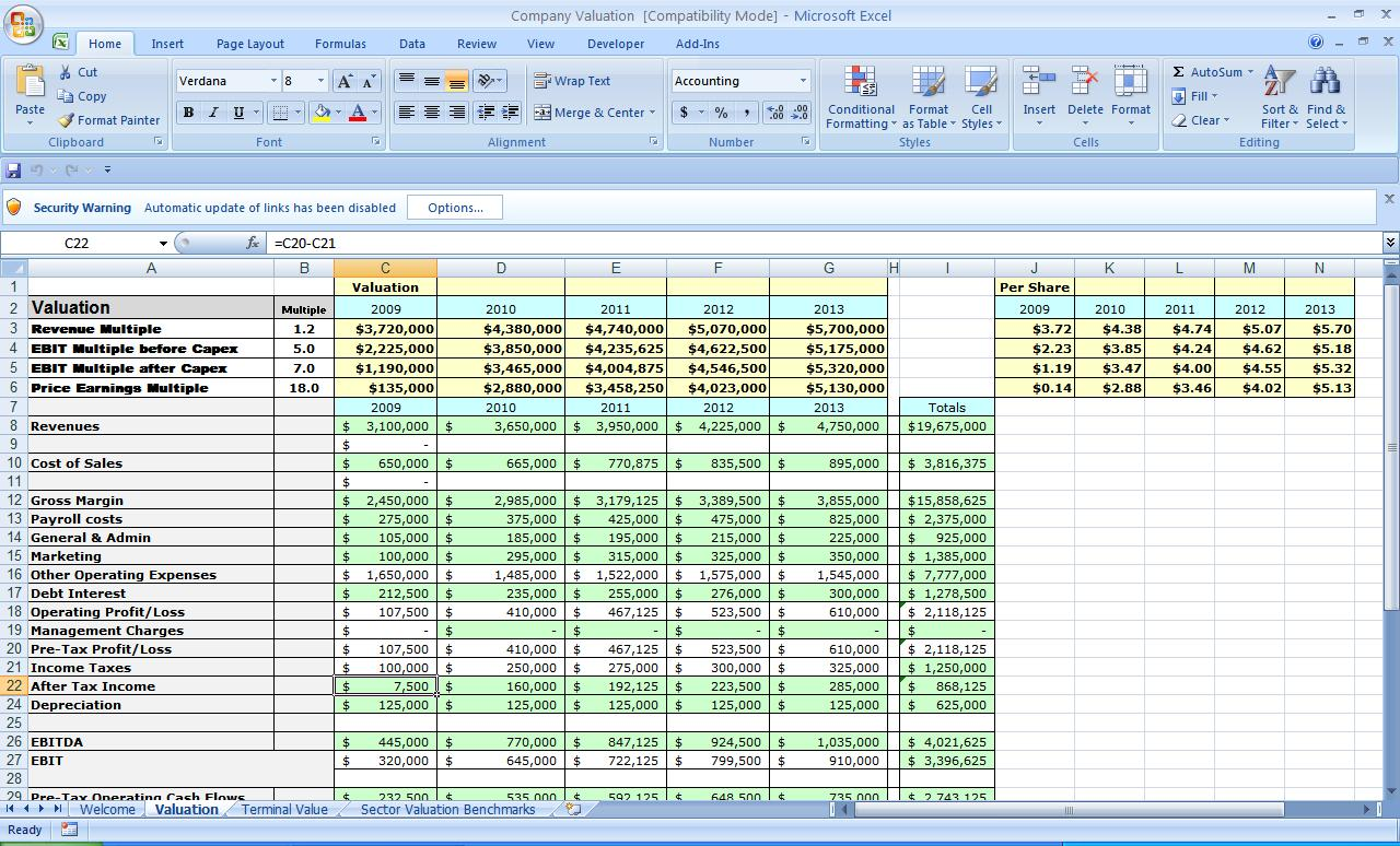 spreadsheets templates free download