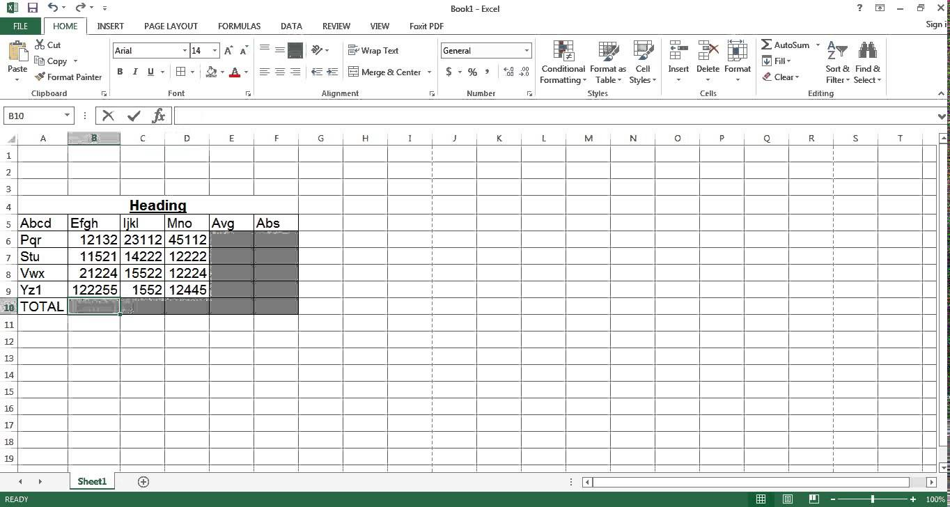 Excel Test Free Download