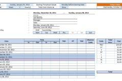 Proposal Tracking Spreadsheet