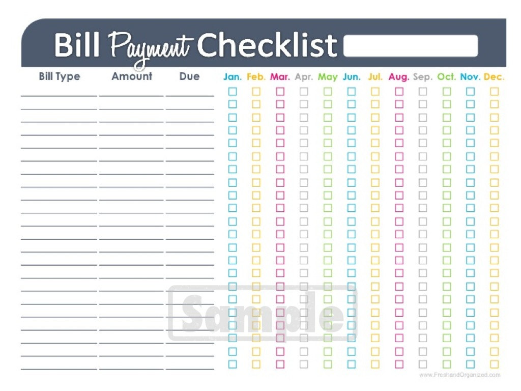 Household Budget Spreadsheet Printable