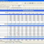 Household Income And Expenses Spreadsheet