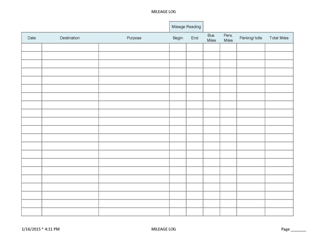 Ifta Mileage Spreadsheet