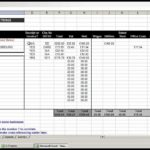 Investment Property Income And Expenses Spreadsheet