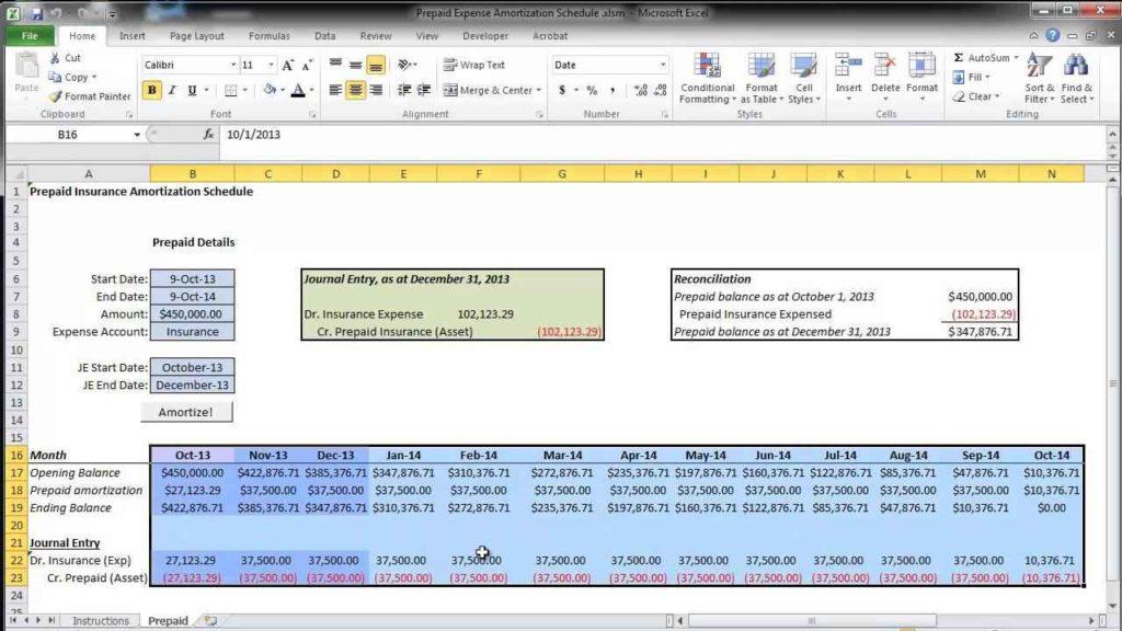 mortgage amortization excel download