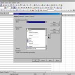 Open Document Spreadsheet