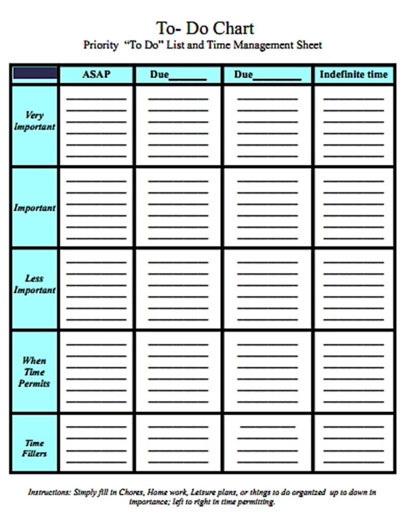 Project Task Management Template