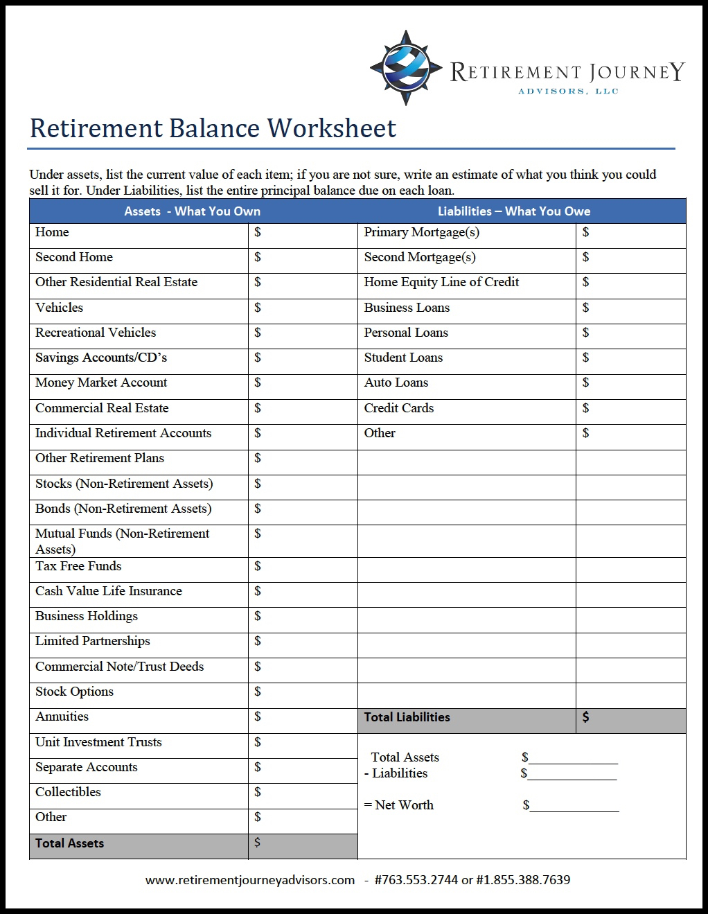 Retirement Savings Compound Interest Calculator