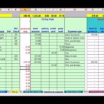 Single Entry Bookkeeping Spreadsheet Excel
