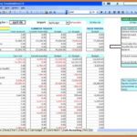 Small Business Income And Expenses Spreadsheet Template
