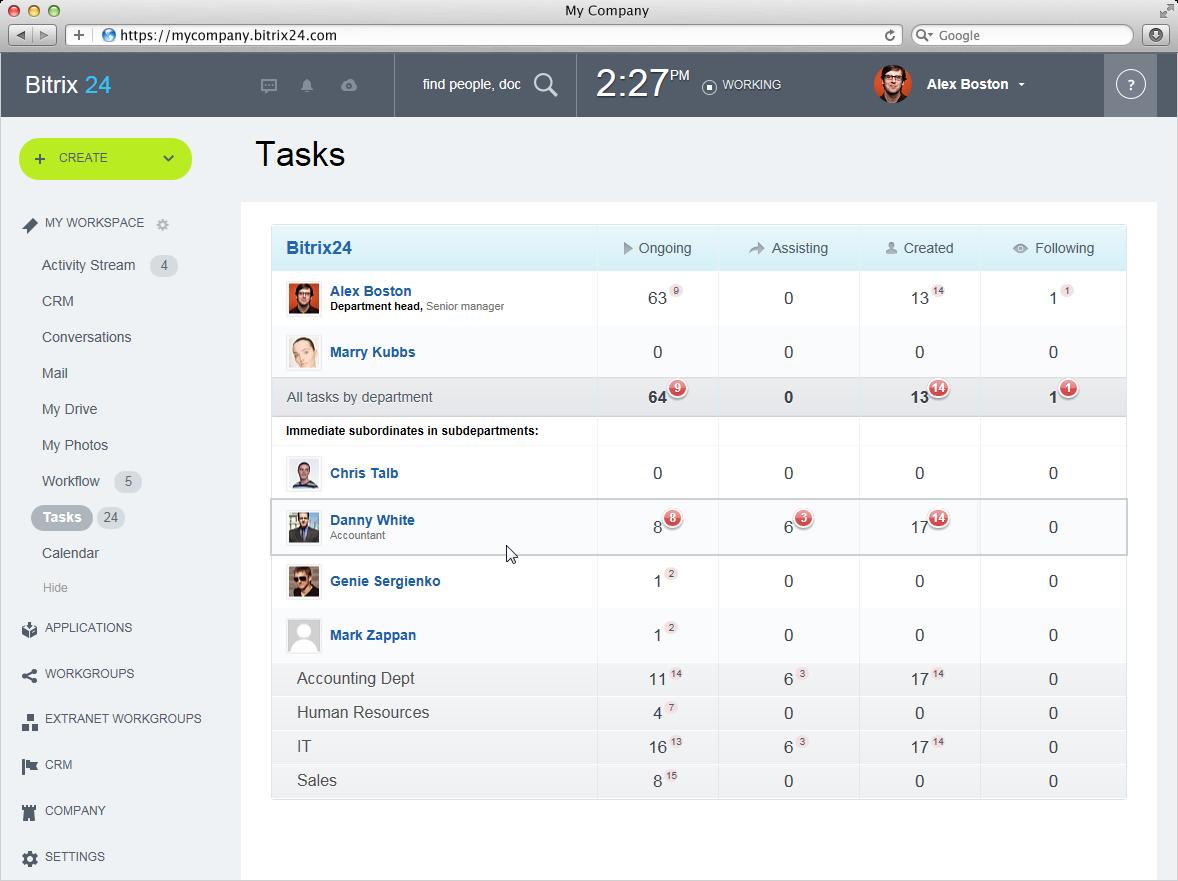Task Management Excel Template