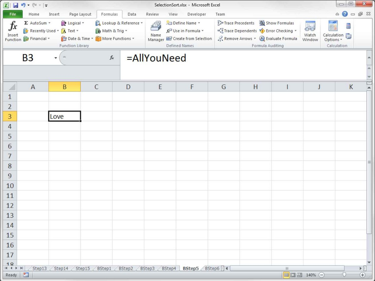 electronic spreadsheet program definition