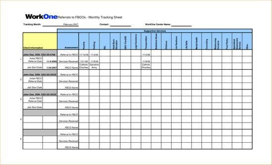 grant expense tracking spreadsheet