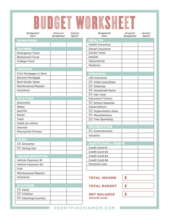 how to make a small business budget spreadsheet