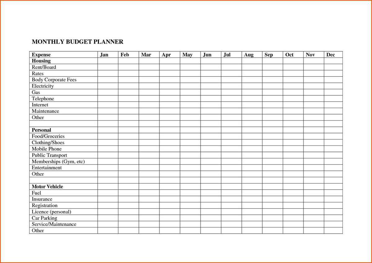 Worksheets Monthly Personal Budget Worksheet monthly spread sheet daway dabrowa co sheet