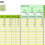powerball numbers in spreadsheet