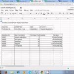 sample liquor inventory spreadsheet