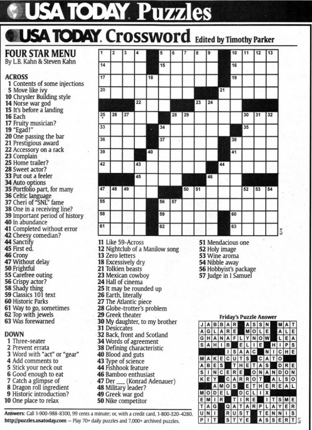 sobel crossword