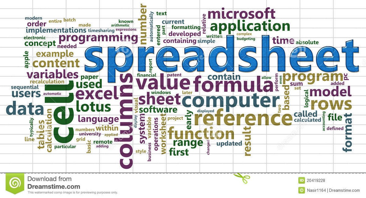 spreadsheet software definition excel