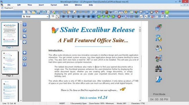 spreadsheet software for windows 10
