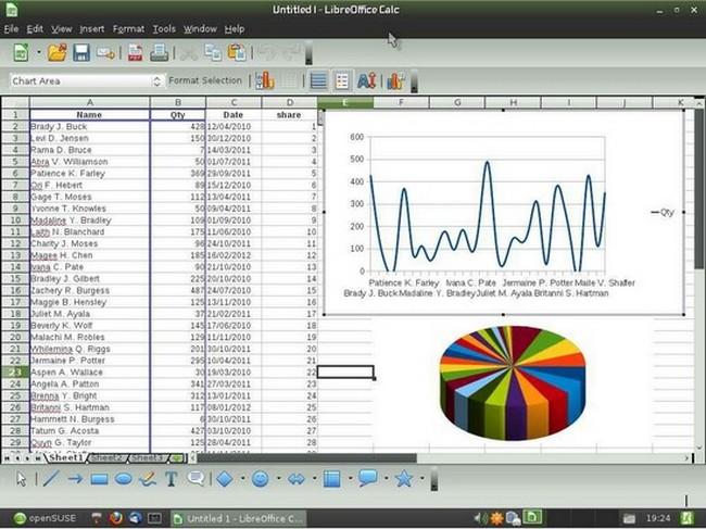 spreadsheet software for windows