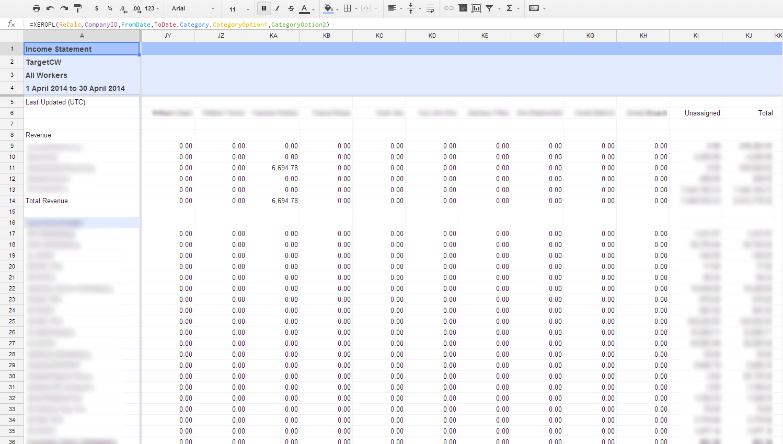 Advanced Excel Spreadsheet Templates Free