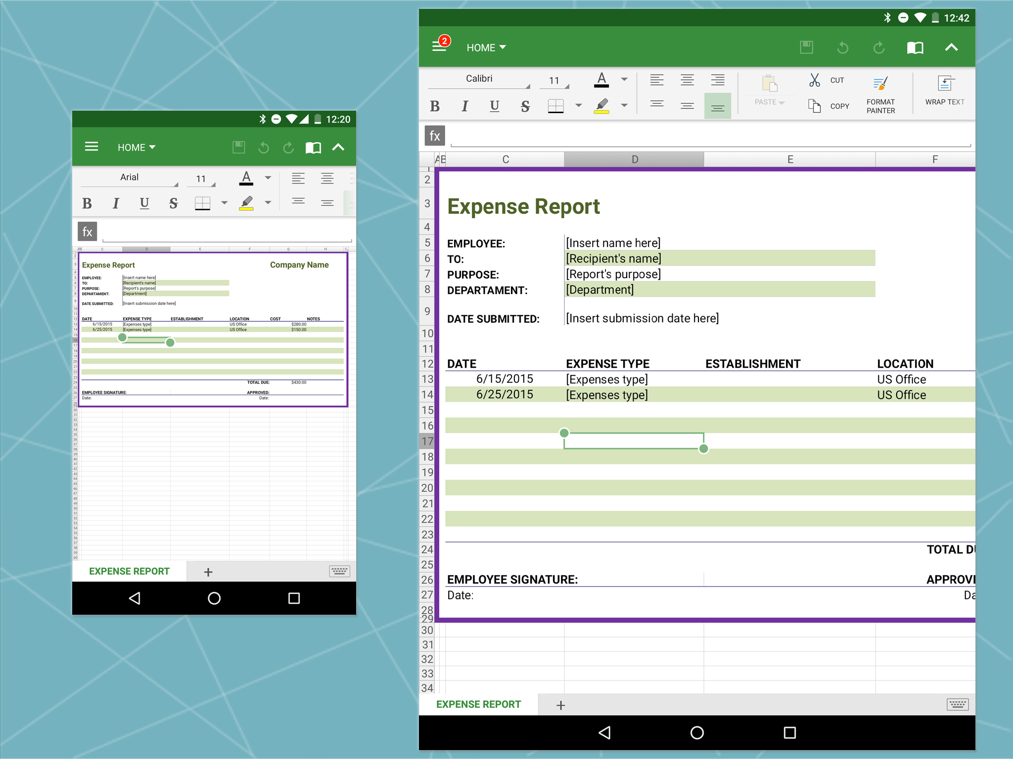 Best Spreadsheet App For Android Tablet