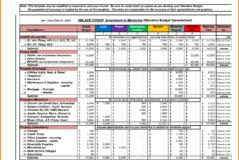 Buget Spreadsheet