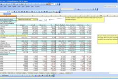 Business Income Expense Spreadsheet