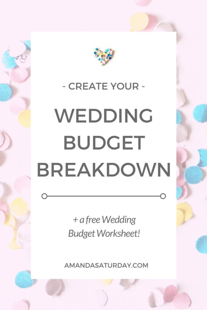 online wedding budget spreadsheet