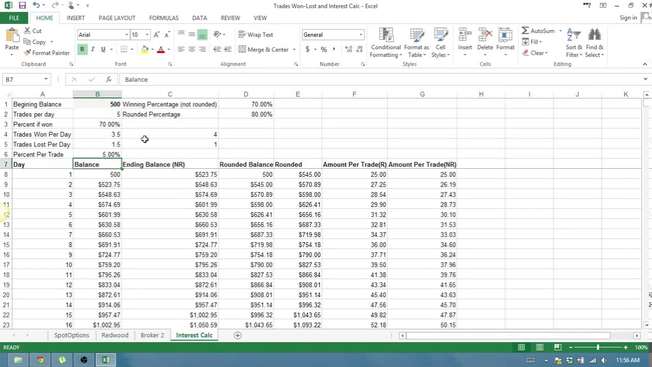 Compound Interest Calculator For Retirement And Compound Interest Loan Calculator Excel