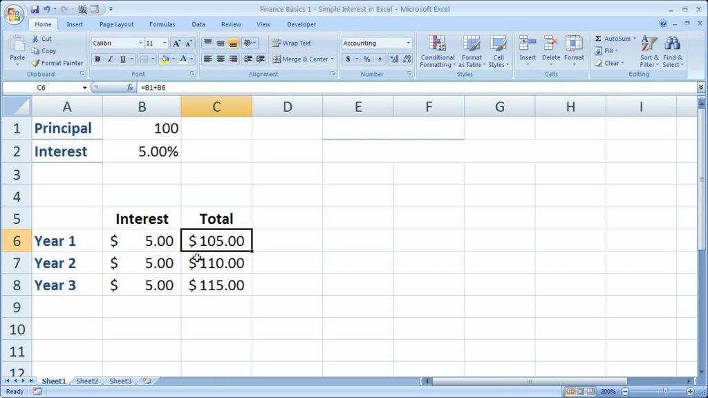 simple interest loan calculator amortization