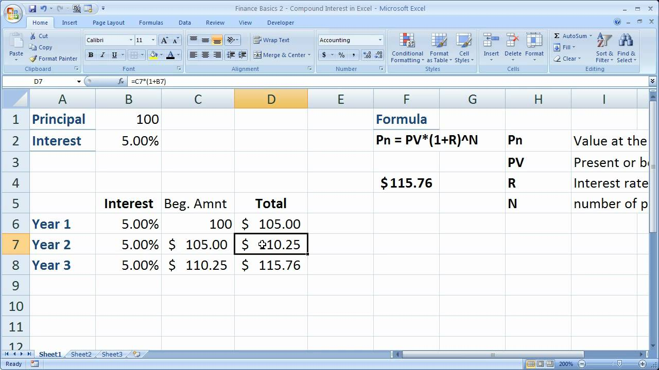 Compound Interest Calculator Mortgage And Compound Interest Calculator With Withdrawals And Deposits