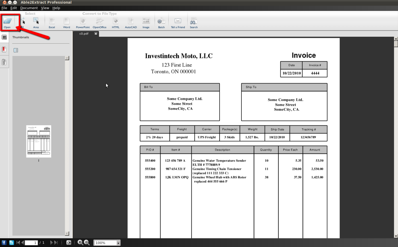 Convert Pdf Into Excel File