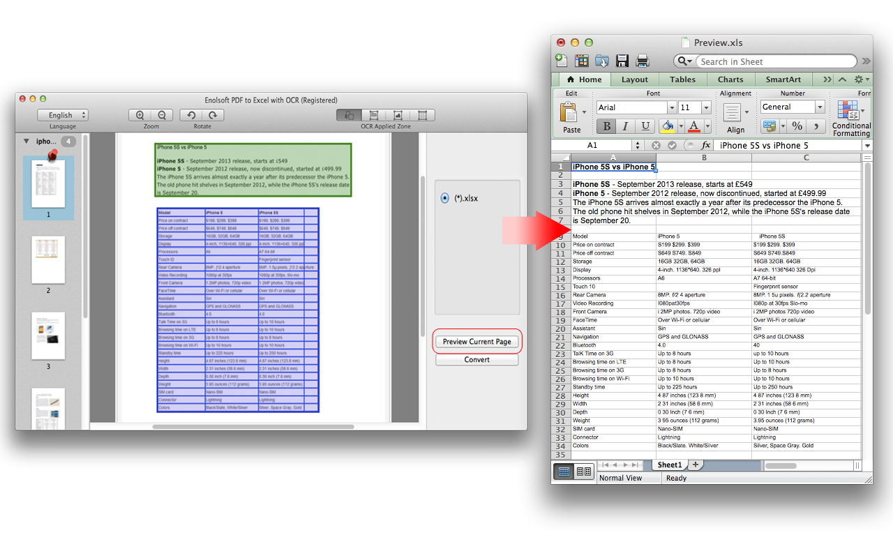 Convert Pdf To Excel Spreadsheet Online