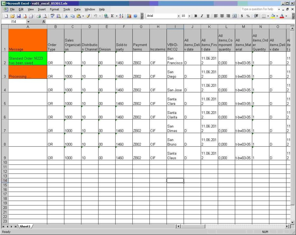 Data Center Inventory Template Excel