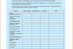 Dave Ramsey Budget Spreadsheet