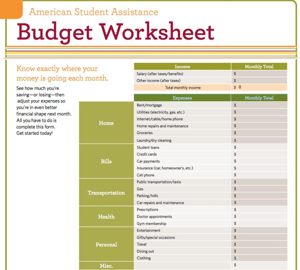 Dave Ramsey Budget Spreadsheet Template Natural Buff Dog
