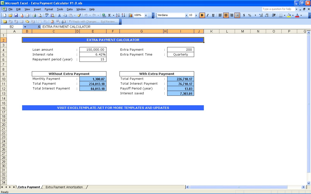 Debt Reduction Spreadsheet For Excel and Free Debt Reduction Calculator Spreadsheet