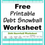 Debt Reduction Spreadsheet Snowball and Free Snowball Debt Reduction Calculator